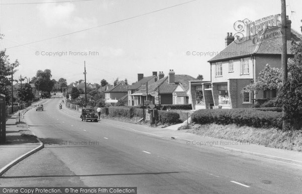Backwell, Main Road c.1960