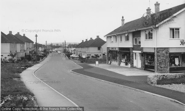 Backwell, Rodney Road c1960