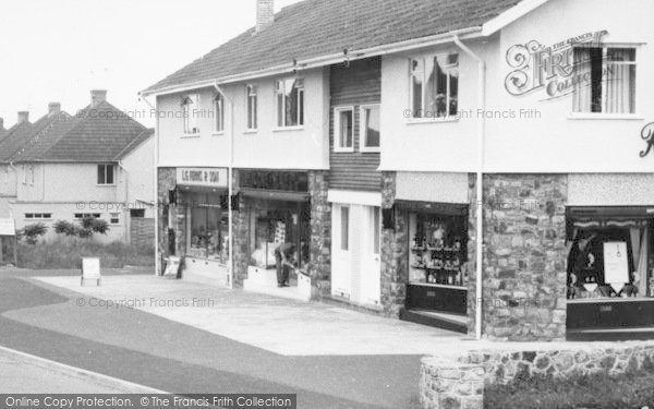 Photo of Backwell, Rodney Road, Shops c.1960