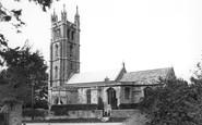 Backwell, the Parish Church c1955