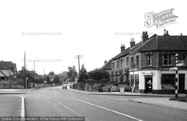 Backwell, West Town c.1955