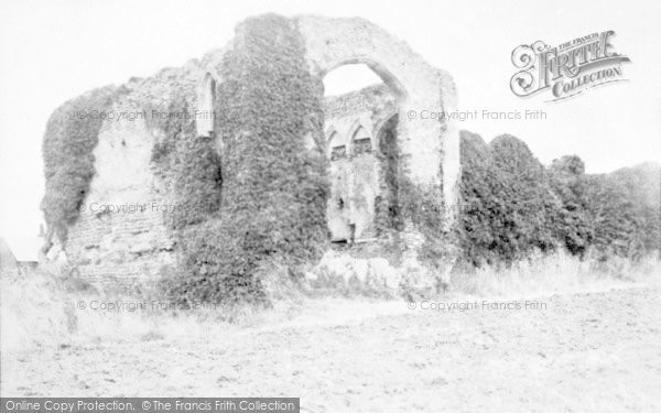 Photo of Bacton, Abbey 1933