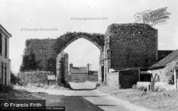 Abbey Gateway c.1955, Bacton