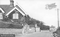 Bacton, Coast Road c.1955
