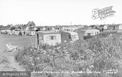 Bacton, Coast Road Caravan Site c.1955