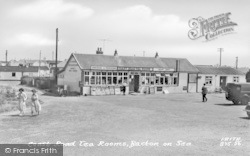 Bacton, Coast Road Tea Rooms c.1955