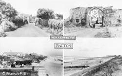 Bacton, Composite c.1955