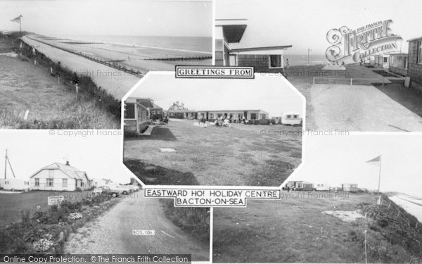 Photo of Bacton, Composite c.1960