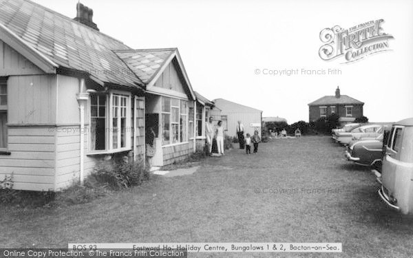 Photo of Bacton, Eastward Ho Holiday Centre, Bungalows 1 & 2 c.1960