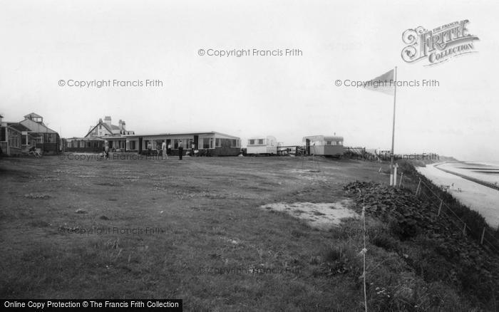 Photo of Bacton, Eastward Ho Holiday Centre c.1960