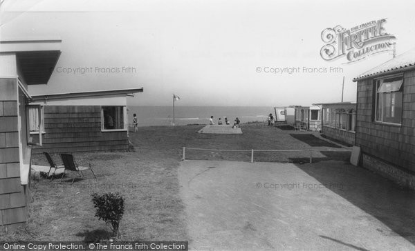 Bacton, Eastward Ho Holiday Centre c.1960