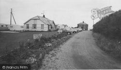 Bacton, Eastward Ho Holiday Centre Entrance c.1960