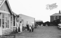 Bacton, Family, Eastward Ho Holiday Centre c.1960