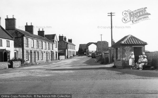 Bacton, Priory Entrance c.1955