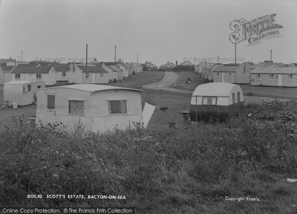 Bacton, Scott's Estate c.1955