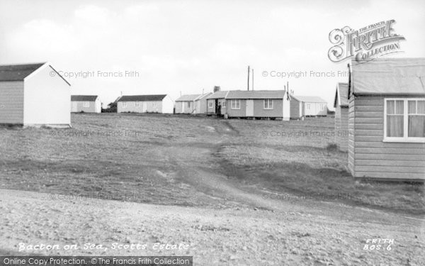 Photo of Bacton, Scotts Estate c.1955