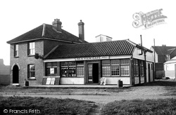 Bacton, Sea View Cafe c.1955