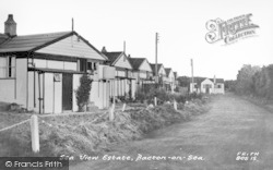Bacton, Sea View Estate c.1955