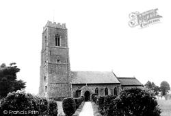Bacton, St Andrew's Church c.1955