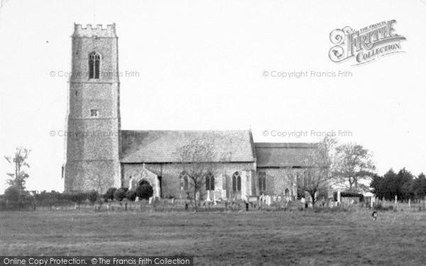 Photo of Bacton, St Andrew's Church c.1955