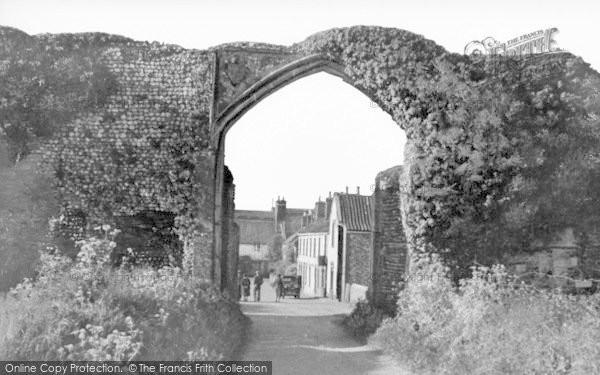 Photo of Bacton, The Abbey Gateway c.1950
