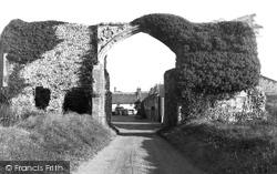 Bacton, The Gateway c.1955