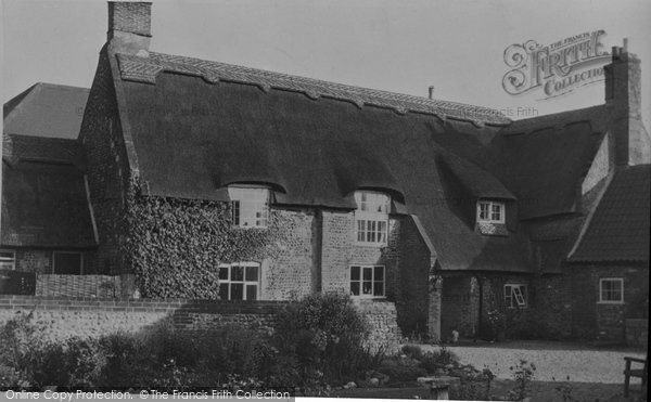 Photo of Bacton, The Pilgrims House c.1955
