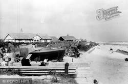 Bacton, The Sands c.1955