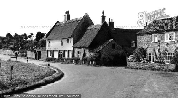 Photo of Bacton, The Village c.1955