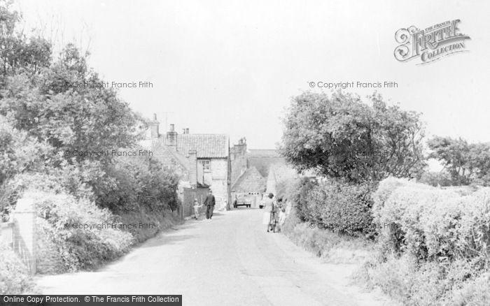 Photo of Bacton, Walcott Road c.1955