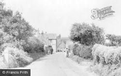 Bacton, Walcott Road c.1955