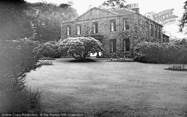 Bacup, Broadclough Hall c.1960