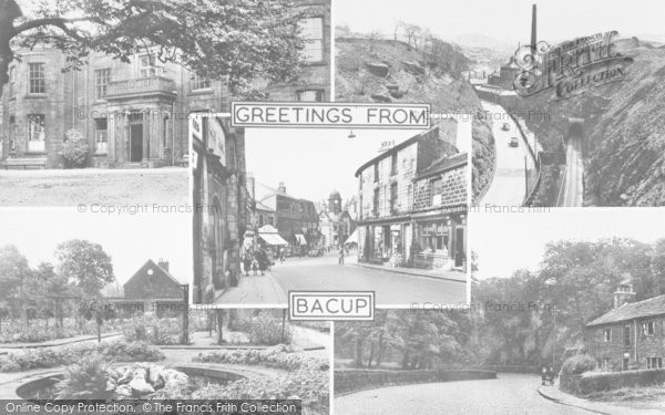 Photo of Bacup, Composite c.1955