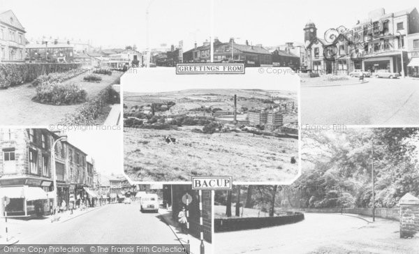 Photo of Bacup, Composite c.1960