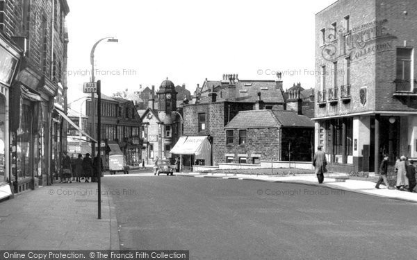 Photo of Bacup, Market Street c.1955