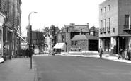 Bacup, Market Street c1955