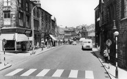 Bacup, Market Street c1960