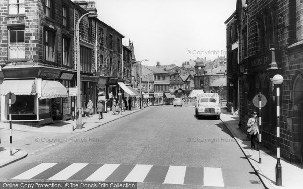 Photo of Bacup, Market Street c1960