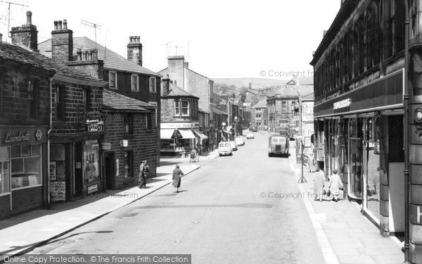 Photo of Bacup, St James Street 1961
