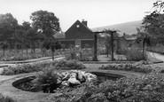Bacup, Stubbylee Park, Rose Garden c.1955