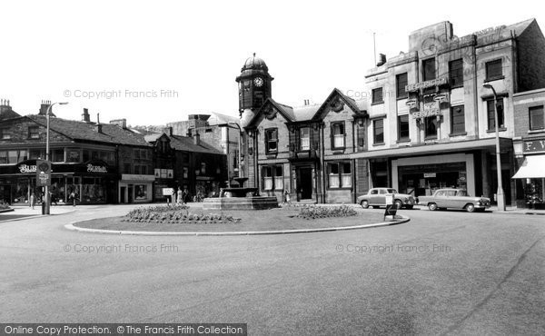 Photo of Bacup, The Centre c.1960