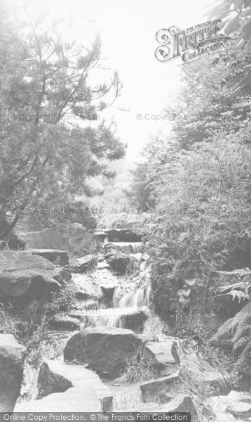 Photo of Bacup, The Dell In The Park c.1955