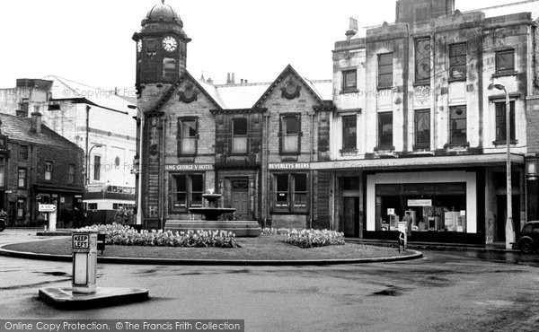 Bacup, the Fountain, St James's Square c1955
