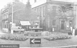 Bacup, The Fountain, St James Square c.1955