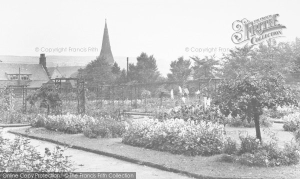 Photo of Bacup, The Park, Rose Garden c.1955
