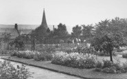Bacup, The Park, Rose Garden c.1955