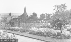 Bacup, The Park, Rose Garden c.1955