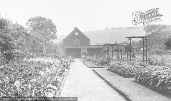 Photo of Bacup, The Rose Gardens c.1955