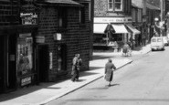 Bacup, Yarwoods Cafe, St James Street 1961