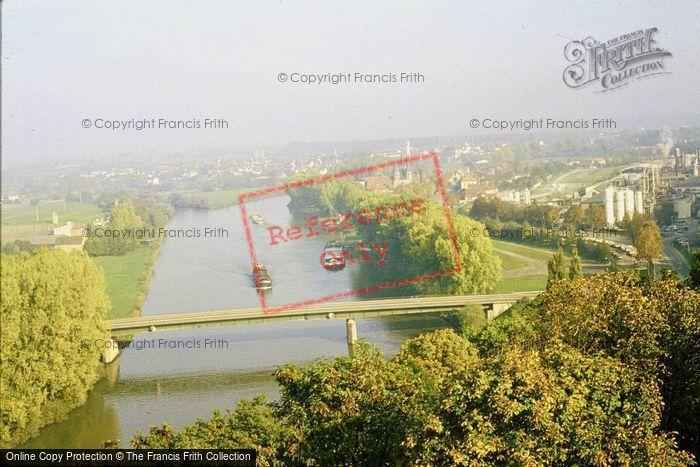 Photo of Bad Wimpfen, River Neckar 1982